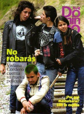 Santiago Núñez del Arco en al portada de Hoy Domingo, a propósito del estreno de su primer película: